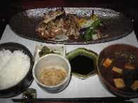 薩摩地鶏炭焼膳